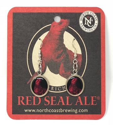 Red Seal Earrings