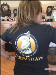 Scrimshaw  Women's Short Sleeve T-Shirt  100% Cotton