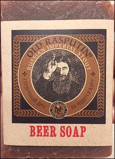 Old Rasputin Hand brewed Soaps