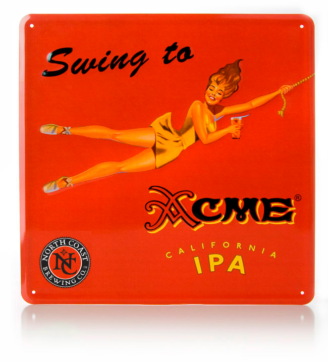 Acme IPA Metal Sign MAIN