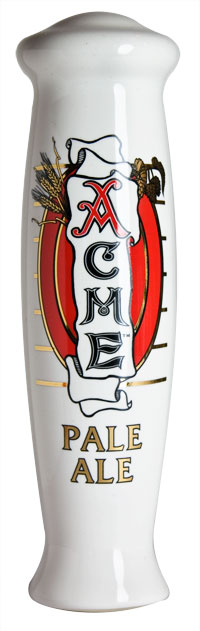 Acme Pale Ale Ceramic Tap Handle MAIN