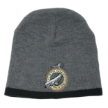 Knit Beanie Cap with Logo THUMBNAIL