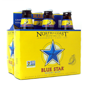 Blue Star Wheat Beer 12 oz. 6 pack MAIN