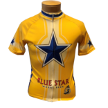 Men's Blue Star Bike Jersey THUMBNAIL