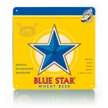 Blue Star Metal Sign THUMBNAIL