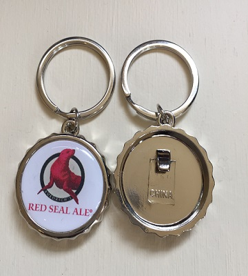 Red Seal Opener Key Ring