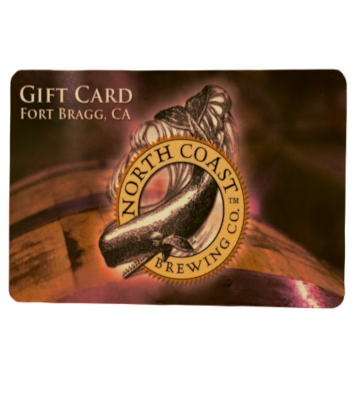 Gift Card - for the Pub and Gift Shops at the brewery ($25) MAIN