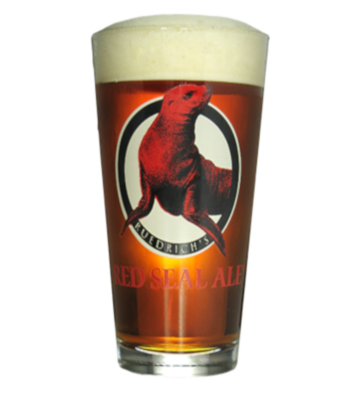 Red Seal Pint Glass