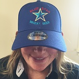 Blue Star Era Stretch Hat