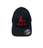Red Seal Black FlexFit Hat THUMBNAIL