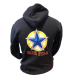 Blue Star Hooded Sweatshirt THUMBNAIL
