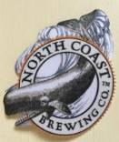 Iron On Patch with North Coast Brewing Co. Whale Logo