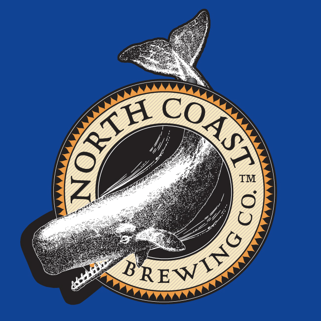 North Coast Brewing LED Whale Sign