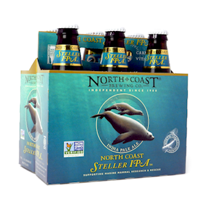 North Coast Steller IPA 12 oz. 6 pack MAIN