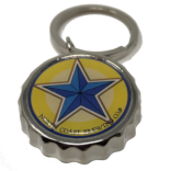 Blue Star Opener Key Ring THUMBNAIL