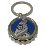 Scrimshaw Opener Key Ring