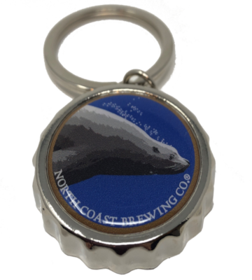 North Coast Steller IPA Bottle Cap opener key ring MAIN