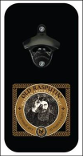 Old Rasputin Rectangle Shape- Magnetic Bottle Opener & Cap Catcher