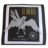 Iron On Patch with Le Merle Logo