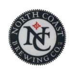 Iron On Patch with North Coast Brewing Co. Logo THUMBNAIL