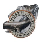 Iron On Patch with North Coast Brewing Co. Whale Logo THUMBNAIL