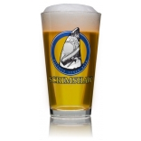 Scrimshaw Pint Glass