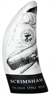 Scrimshaw Resin Tap Handle
