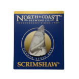 Scrimshaw Wood Sign