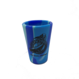 Tie Dye Colored Silicon Shot Glasses SWATCH