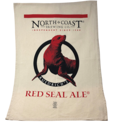 Red Seal Organic Cotton Tea Towel MAIN