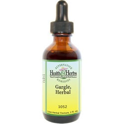 Herbal Gargle|Mouth Wash and Gargle|Herbal Tinctures/Extracts and Their Benefits LARGE