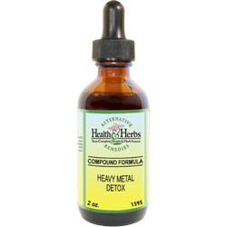 Heavy Metal Detox Herbal Formula|Tinctures/Liquid Extracts and Their Uses MAIN