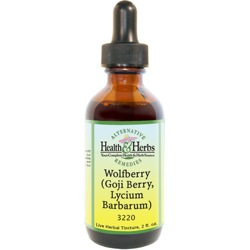 Wolfberry, aka Lycii Berry|Tincture-Liquid Herbal Extract & Benefits MAIN