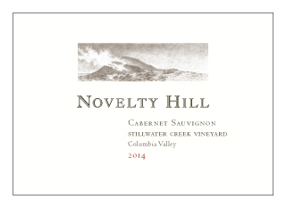 Novelty Hill 2014 Stillwater Creek Vineyard Cabernet Sauvignon