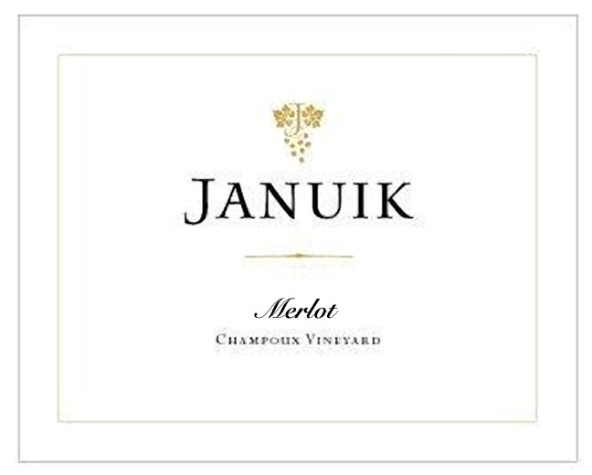 Januik 2015 Champoux Vineyard Merlot