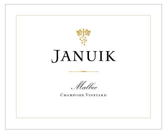 Januik 2014 Champoux Vineyard Malbec