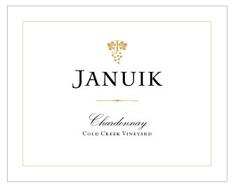 Januik 2016 Cold Creek Vineyard Chardonnay
