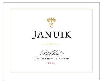 Copy of Januik 2013 Ciel du Cheval Vineyard Petit Verdot - 3 btl Limit