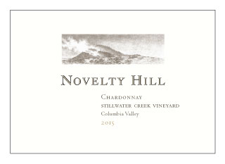 Novelty Hill 2015 Stillwater Creek Vineyard Chardonnay