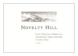 Novelty Hill 2014 Stillwater Creek Vineyard Late Harvest Semillon - 375 mL
