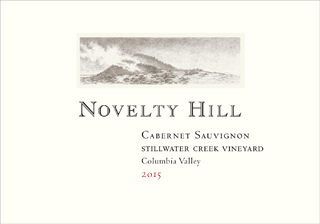 Novelty Hill 2015 Stillwater Creek Vineyard Cabernet Sauvignon
