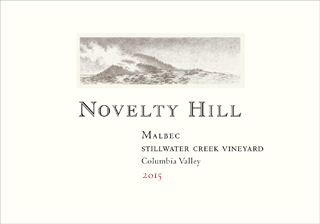 Novelty Hill 2015 Stillwater Creek Vineyard Malbec