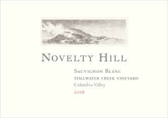 Novelty Hill 2016 Stillwater Creek Vineyard Sauvignon Blanc