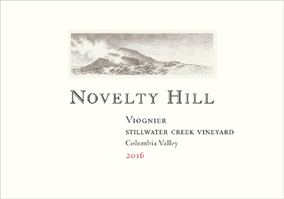Novelty Hill 2016 Stillwater Creek Vineyard Viognier