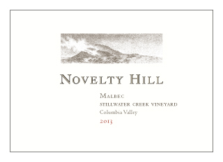 Novelty Hill 2013 Stillwater Creek Vineyard Malbec