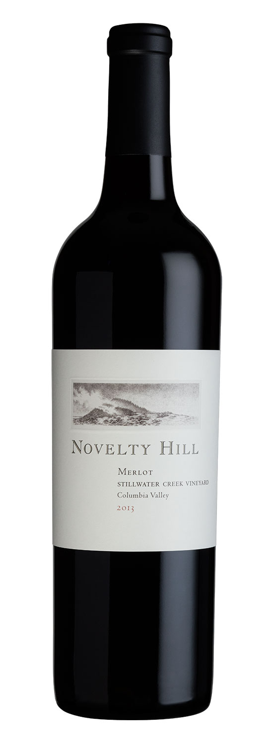 Novelty Hill 2013 Stillwater Creek Vineyard Merlot