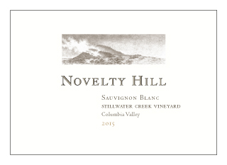 Novelty Hill 2015 Stillwater Creek Vineyard Sauvignon Blanc