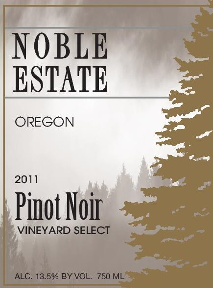 2011 Pinot Noir Vineyard Select
