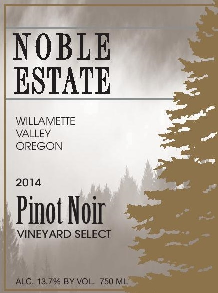 2014 Pinot Noir Vineyard Select THUMBNAIL