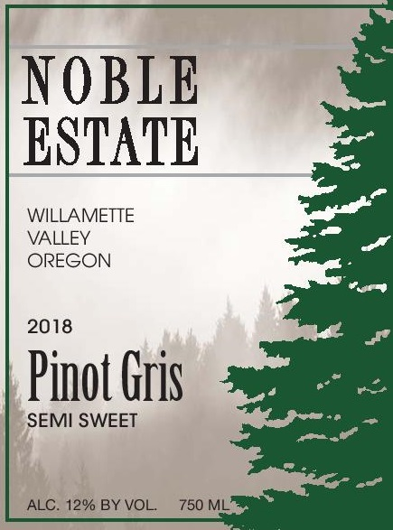 2018  Pinot Gris Semi-sweet MAIN